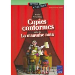 Copies conformes - La mauvaise note - Michel Coulareau - RETZ