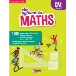 Au rythme des maths CM - Manuel - 2018 - Bordas