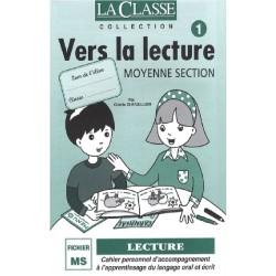 La Classe - Vers la lecture Moyenne Section Tome 1 et Tome 2