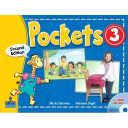 Pockets 3 - Student Book - 2e Edition - Pearson
