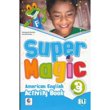 Super Magic 3 - Activity Book 1 + Audio CD - American English - Eli