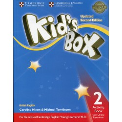 Kid's Box 2 - Activity Book with Online Resources - Updated 2e Edition - Cambridge University Press