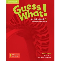 Guess What 1 - Activity Book with Online Resources - Cambridge University Press