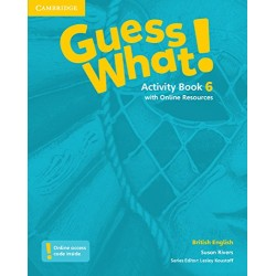 Guess What 6 - Activity Book with Online Resources - Cambridge University Press