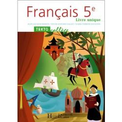 Textocollège 5ème - Manuel - 2006 - Hachette