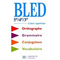 Bled 5e / 4e / 3e - BEP - Cours supérieur - Manuel - 2000 - Hachette