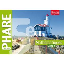 Phare mathématiques 5ème - Cycle 4 - Manuel - 2016 - Hachette