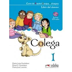 Colega 1 - Libro Del Alumno + Cuaderno de Ejercicios - Edelsa