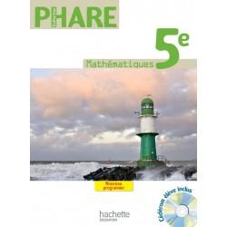 Phare Mathématiques 5ème - Manuel - Grand Format - 2010 - Hachette
