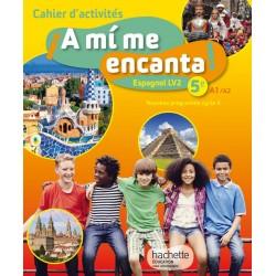 A mi me encanta espagnol 5ème - Cahier d'activités - 2016 - Hachette