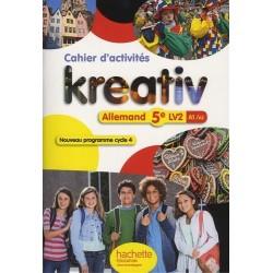 Kreativ allemand 5e - Cycle 4 - LV2 - Cahier d'activités - éd. 2016