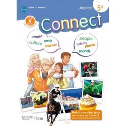 Connect 5ème - Palier 1 année 2 - Anglais - Manuel - 2012 - Hachette