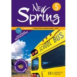 New Spring anglais 5ème LV1 - Manuel - 2007 - Hachette