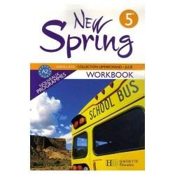 New Spring anglais 5ème LV1 - Workbook - 2007 - Hachette