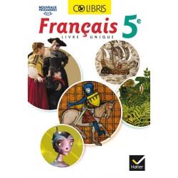 Colibris Français 5ème - Manuel - 2016 - Hatier