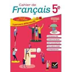 Cahier de Français 5e - 2016 - Hatier