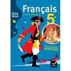 Rives Bleues 5e - Adapté au programme Marocain - 2011 - Hatier