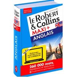 Dictionnaire Le Robert & Collins Maxi Plus Anglais