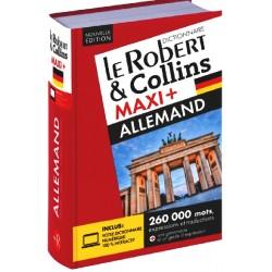 Dictionnaire Le Robert & Collins Maxi Plus Allemand