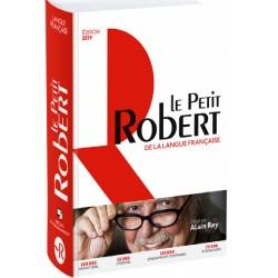 Dictionnaire Le Petit Robert 2019 de la langue Française - Grand format