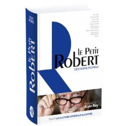 Dictionnaire Le Petit Robert 2019 des noms propres