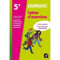 Grammaire 5ème - Cahier d'exercices - 2012 - Hatier