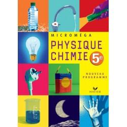 Microméga Physique-Chimie 5e - 2006 - Hatier