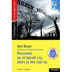 Personne ne m'aurait cru, alors je me suis tu - Sam Braun - Classiques & Contemporains N°116 - Magnard