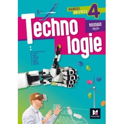 Technologie cycle 4 - 5e / 4e / 3e - Manuel - 2016 - Foucher