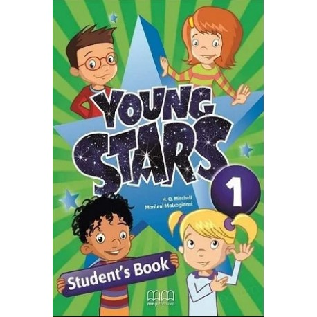 Young Stars 1 - SB + WB + The Gingerbread Man - PACK - British Edition - MM Publications