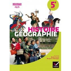 Histoire-Géographie 5e - Manuel - 2016 - Hatier