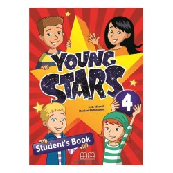Young Stars 4 - SB + WB + The Wishing Fish - PACK - British Edition - MM Publications