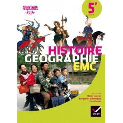 Histoire-Géographie EMC 5e - Manuel - 2016 - Hatier