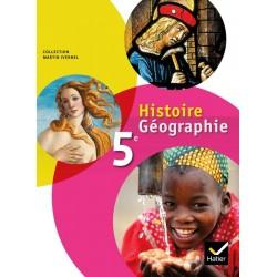Histoire-Géographie 5e éd. 2010 - Manuel de l'élève - Sous la direction d'Ivernel