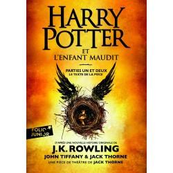 Harry Potter et l'enfant maudit - Parties I et II - Folio Junior