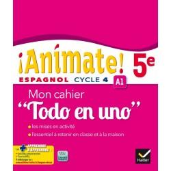 Animate Espagnol 5e - Todo en uno - Cahier d'activités - 2016 - Hatier