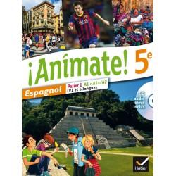 Animate Espagnol 5e - Manuel - 2014 - Hatier