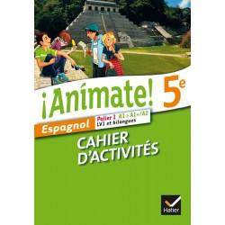 Animate Espagnol 5e - Cahier d'activités - 2014 - Hatier