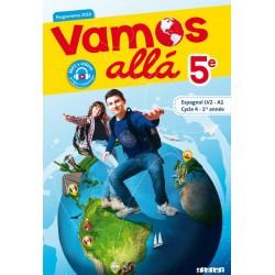 Vamos Allà - 5e - Manuel - LV2 - A1 - 2016 - DIDIER