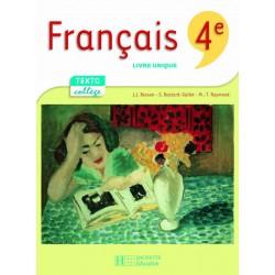 Textocollège Français 4ème - Manuel - 2007 - Hachette