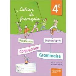 Cahier de français 4ème - 2013 - Hachette
