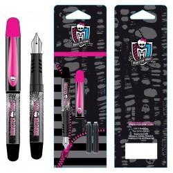 Mini stylo plume Monster High sous blister