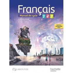 Français 5e - 4e - 3e - Cycle 4 - Manuel - 2016 - Hachette