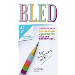 Bled Français 4e/3e - Manuel - 2012 - Hachette