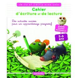 Je lis et j'écris avec Lulu - Cahier d'écriture et de Lecture - GS - 2009 - Magnard