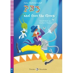PB3 and Coco the Clown + CD - Young Eli Readers