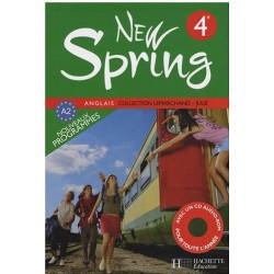 New Spring anglais 4ème LV1 - Manuel - 2008 - Hachette