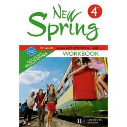New Spring anglais 4ème LV1 - Workbook - 2008 - Hachette