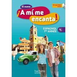 El nuevo A mi me Encanta 4ème - Espagnol 1er année LV2 - Manuel - 2012 - Hachette