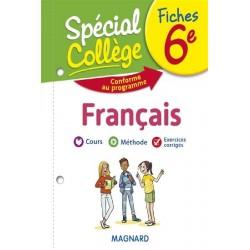 Spécial Collège - Fiches - Français - 6e - 2019 - Magnard